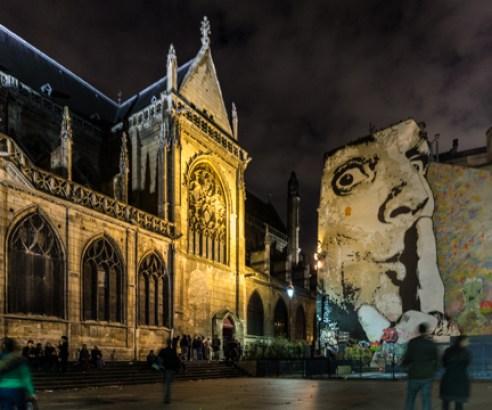 Chuuut ! (Paris - Église Saint-Merri)