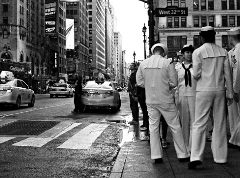 On the Town - Fleet Week New York City, USA