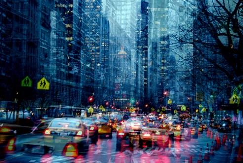 Traffic Jam New York, USA