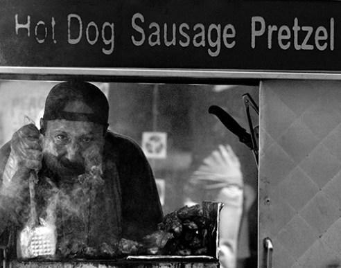 Street Vendor, New York City, NY