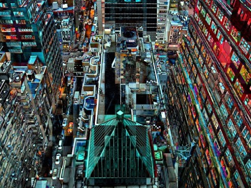 New York from above. A new perspective.