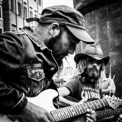 Musicians Piazza Della Rotonda, Rome