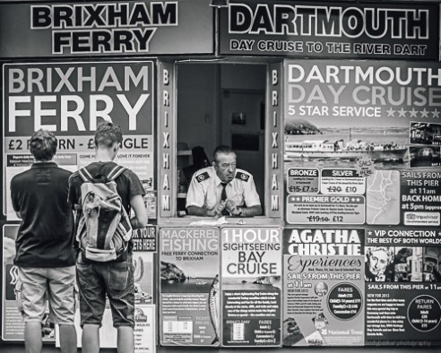 Ticket Office Torquay, UK