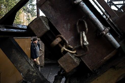 Richard Daniels at Hopewell Colliery.