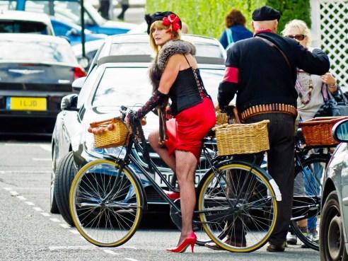 Vintage glamour & great legs Lytham