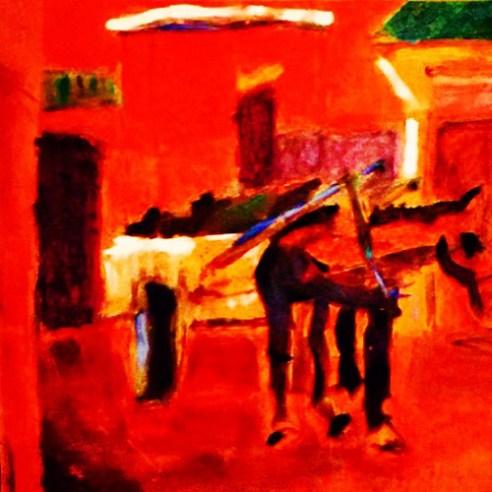 """Grace,"" 2012,Oil on canvas"