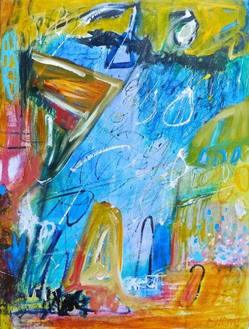 Rain Dancer Acrylic on canvas