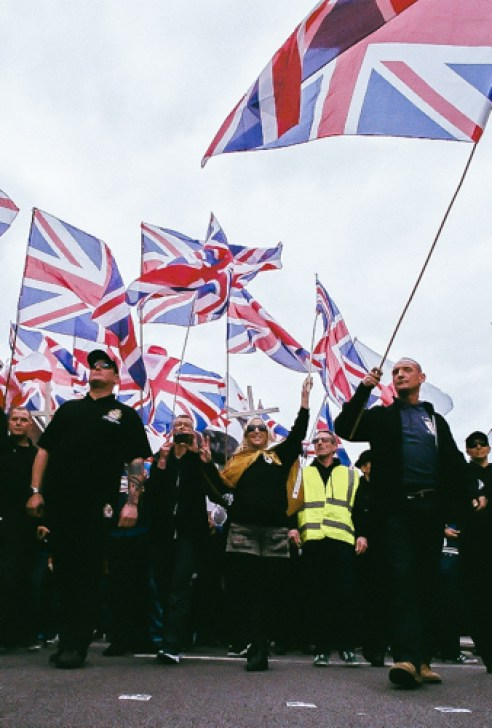 The Right-Wing Parade Burton On-Trent - 2015