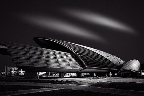 Dubai Metro Station Dubai, UAE