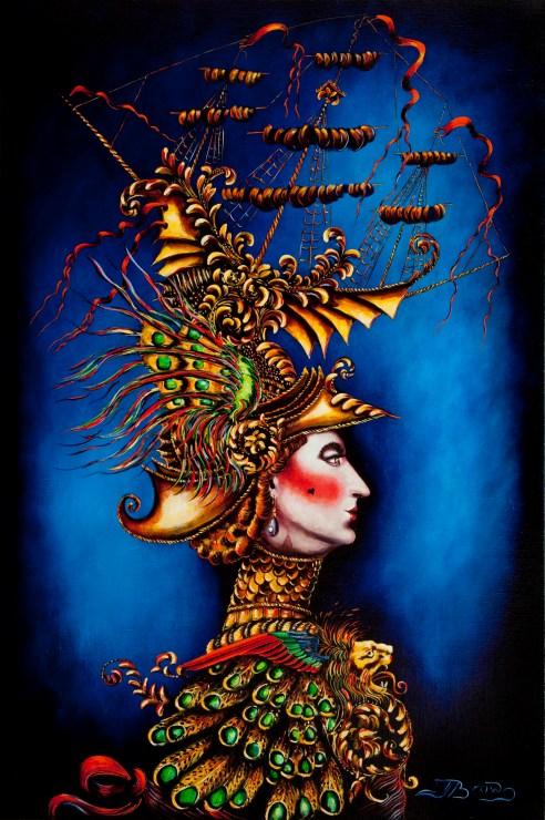 Midas & Marigold Part I (Oil On Canvas)
