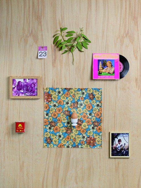 Eucalyptus, 23rd August Calendar Note, Maria Dolores Pradera 7inch Vinyl, The Women of Freddies Family, Plastic Vinyl Table Cloth, Paprika, Egg, Egg Cup, Freddie at his Grandparents Farm.