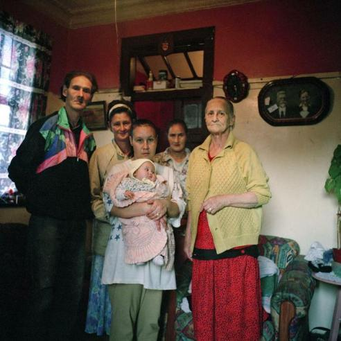 The Rich's, Jan Hofmeyer. The Rich's: Wessel, Miempie, Aletta and baby, Tina and Petronella.