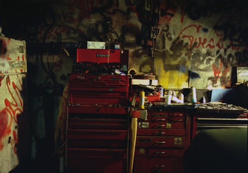 Toolbox with graffiti, 1998