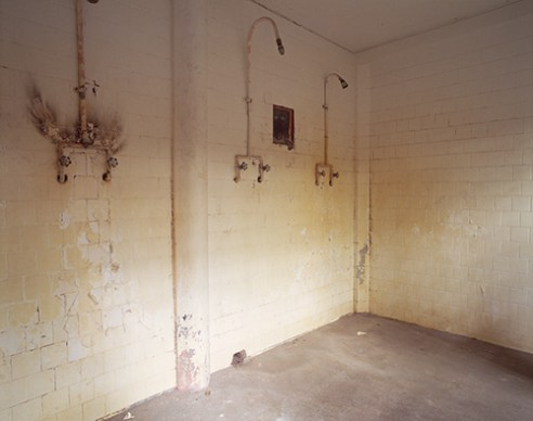Shower, B Block, Wyoming Frontier Prison, 2007