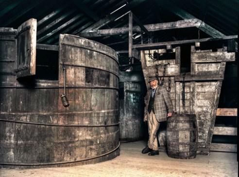 Writer JP Donleavy, Killbegan Distillery, Killbegan Co Westmeath, Ireland