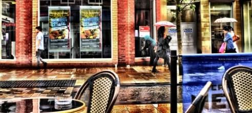 Rain In Preston