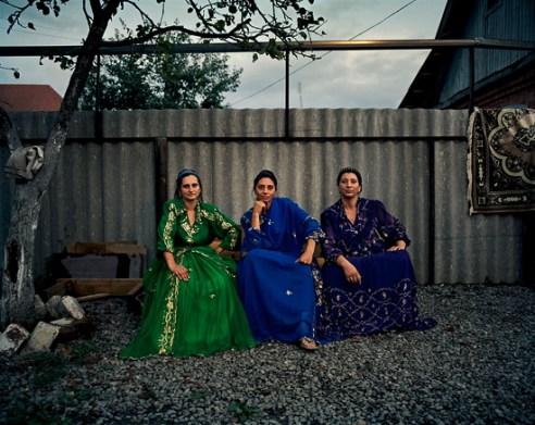 Lyuba, Nadya and Mamu Krasnodar