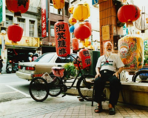 Lantern-making master Taipei, Taiwan
