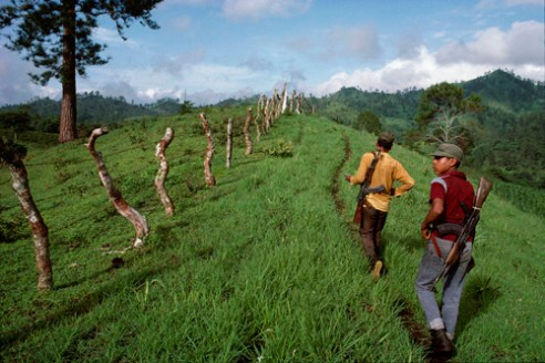 Outside El Jicaro, Nicaragua (El Coyol),