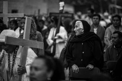 The day of the Holy Cross. While Good Friday is dedicated to the Passion of Christ and the Crucifixion, these days celebrate the cross itself, as the instrument of salvation.