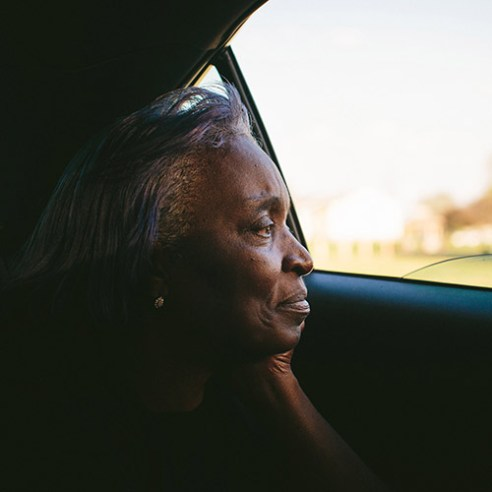 """Claudette Jackson grew up in West Calumet. In 1983, she moved her young family to the housing complex where they still live. After a fruitless search for an apartment in Northwest Indiana, she's stopped looking. """"Everybody's trying to move out of here at one time. Where are you going to go? There's nowhere,"""" she said. 