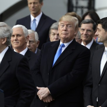 President Donald J. Trump, Tax Cuts and Jobs Act