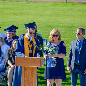 Luke Scorziell, Rim of the World High School, Valedictorian