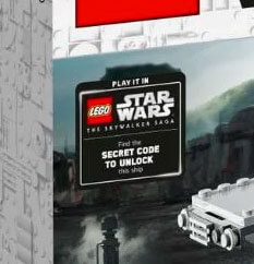 Get the Secret Code to unlock the LEGO Razor Crest in game with purchase