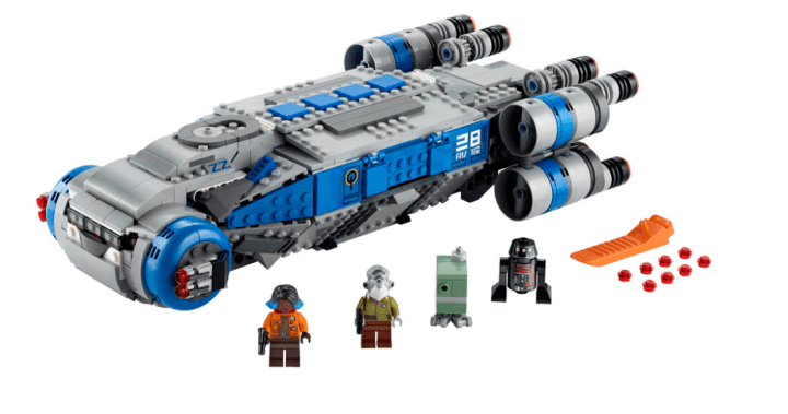 LEGO build of the ITS Transport from Galaxy's Edge