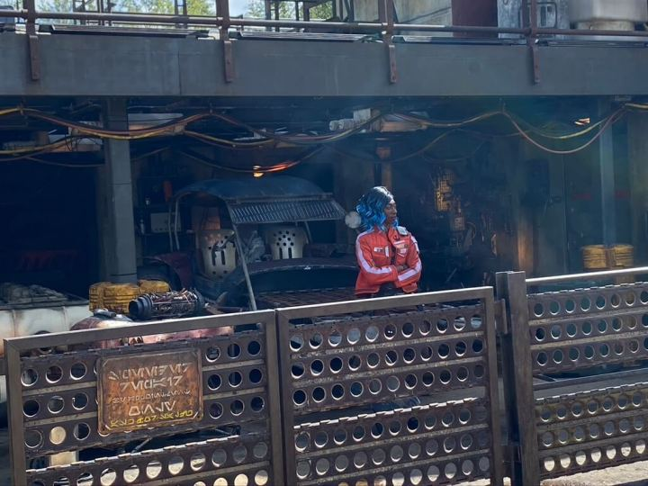 Changes to Galaxy's Edge Character Interactions