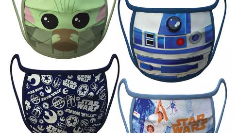 Disney Star Wars face masks