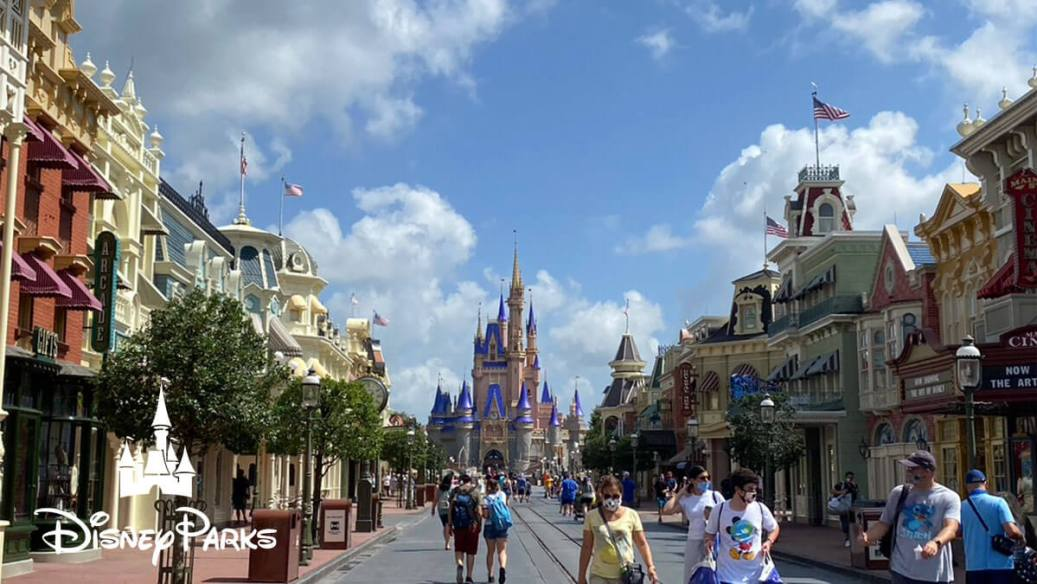 Dinsey's Main Street USA at the Magic Kingdom