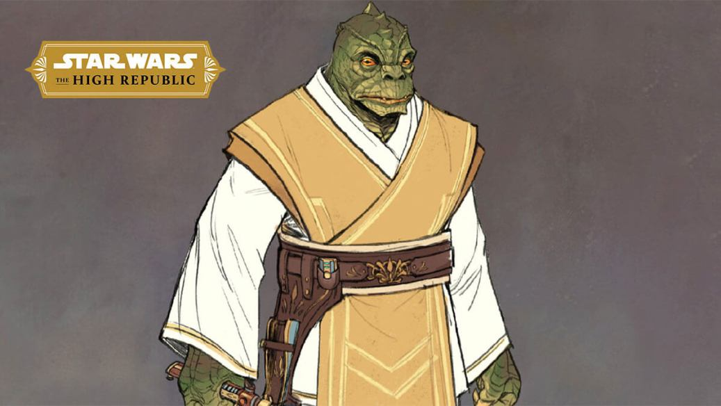 Sskeer a Jedi Knight from the High Republic Era