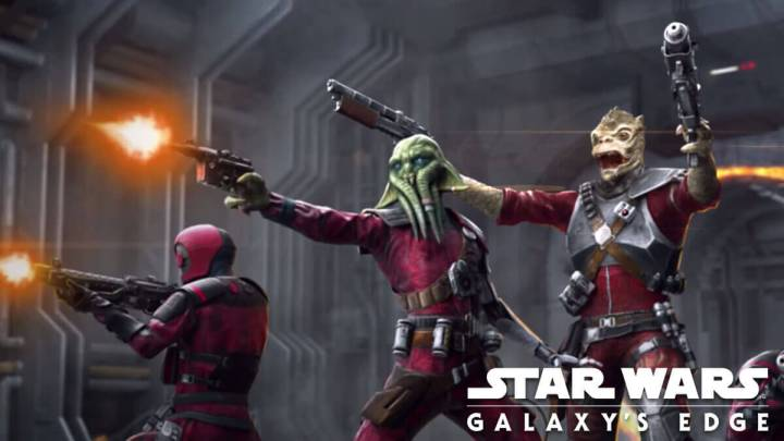 Details Released About VR Experience Tales From The Galaxy's Edge show a Guavian Death Gang lead by Tara Rashin.