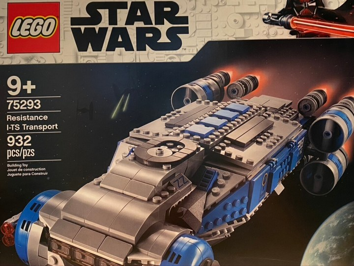 The LEGO Resistance I-TS Transport set box art