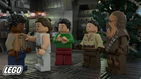 Inmage from the LEGO Star Wars Holiday Special