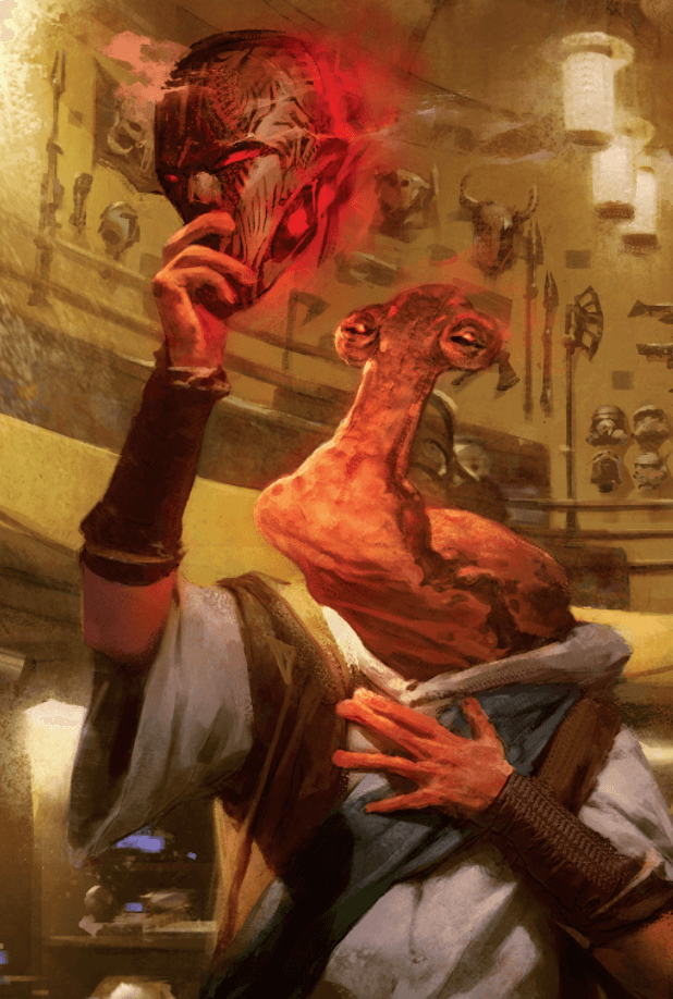 Dok-Ondar's Connection to the Dark Legends Book is interesting