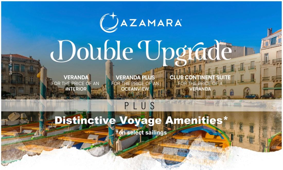 Azamara Double Upgrade