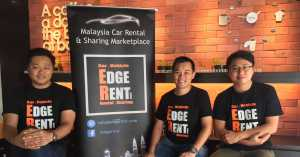 edgerent car rental launch photo