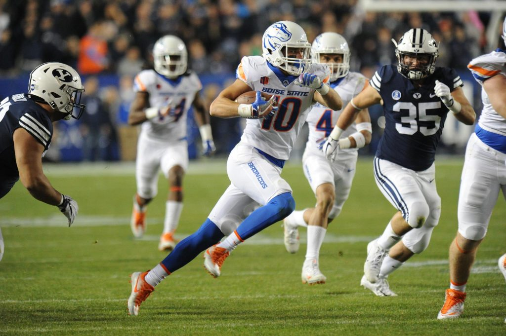 Interview with Boise State Safety Kekoa Nawahine