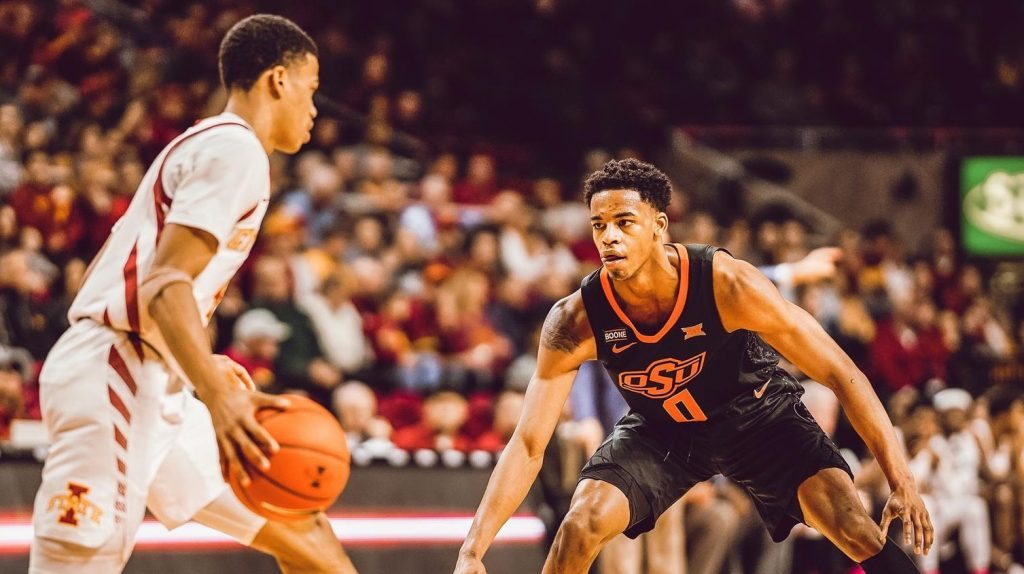 Interview with Oklahoma State Men's Basketball Guard Avery Anderson III