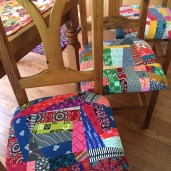 All four chairs finished!