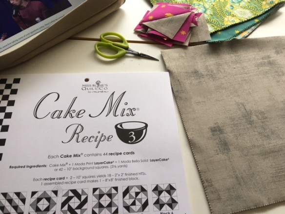 Cake Mix Recipe, Layer Cake Mix, Moda