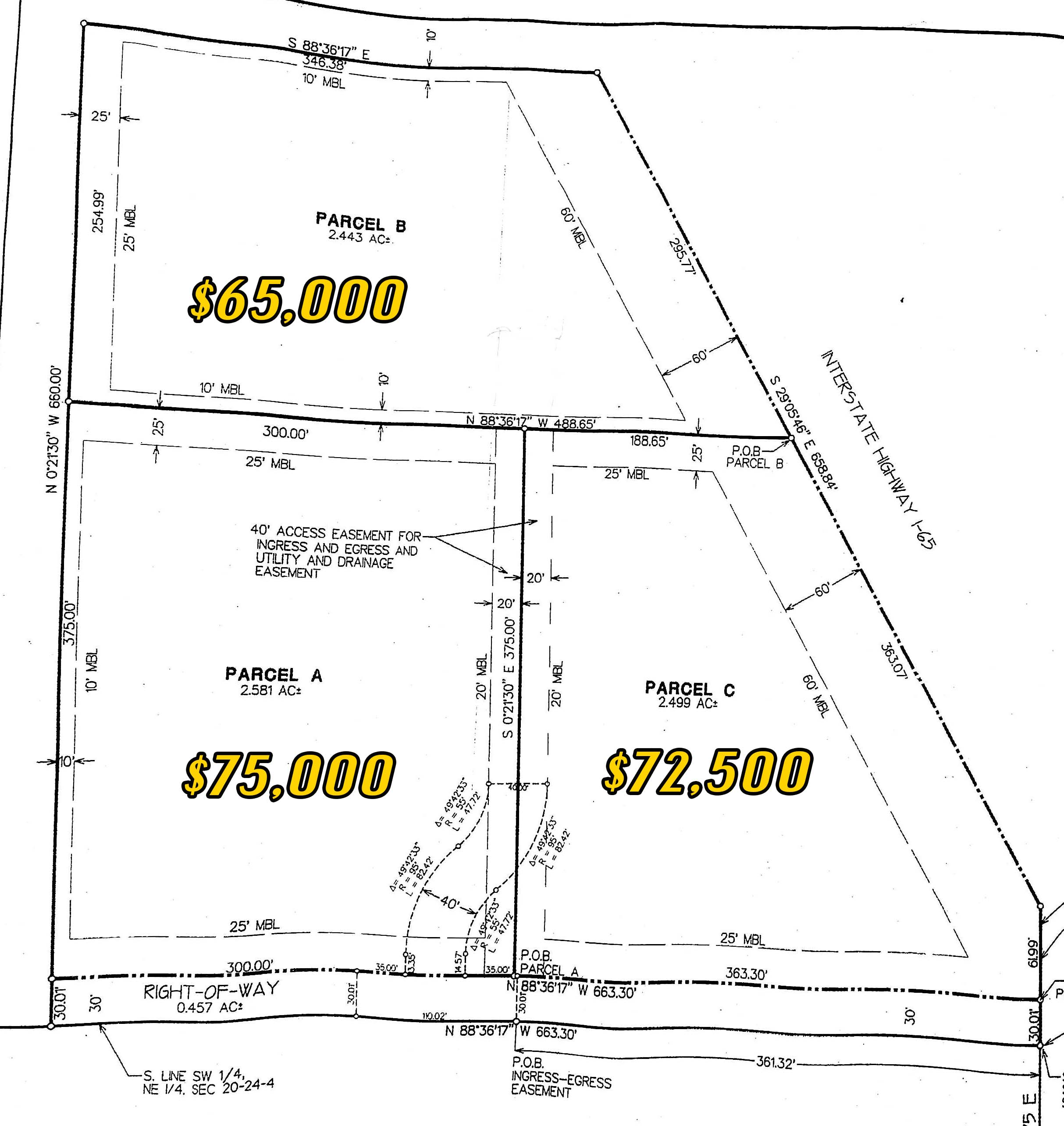 2 5 Acre Building Lot West Lafayette Harrison Amp Bgms