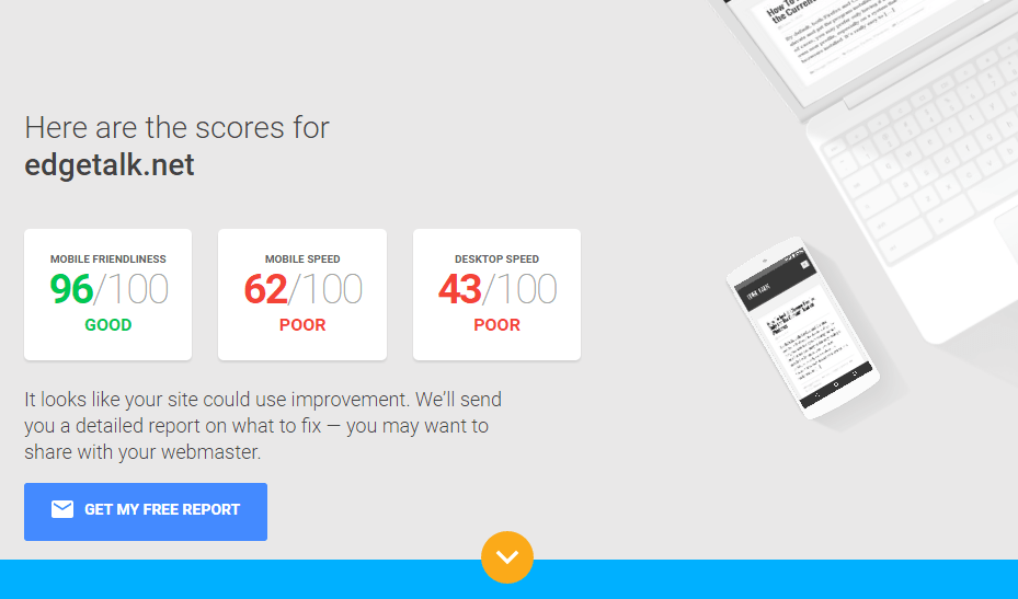 Test Your Site within Google result
