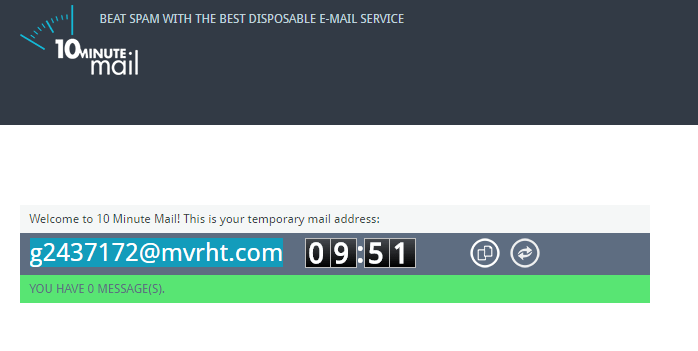 How To Get A Self-Destructing Email Address for Temporarily Use