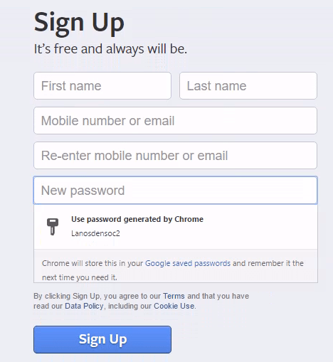 How To Enable and Use Password Generator in Google Chrome