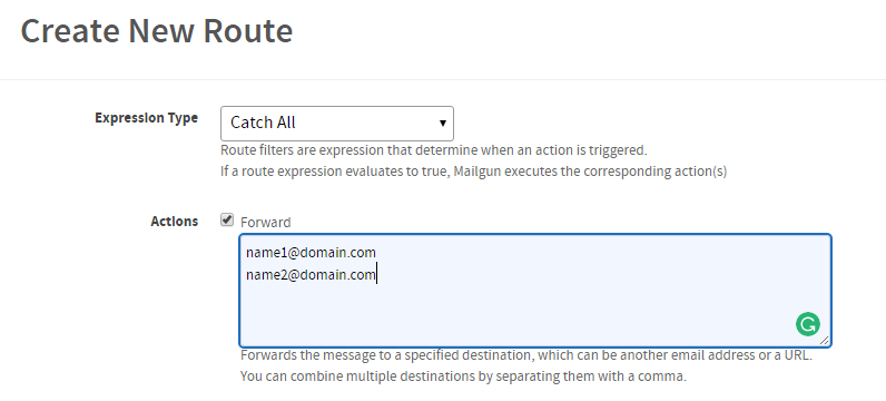 mailgun-create-route-detail