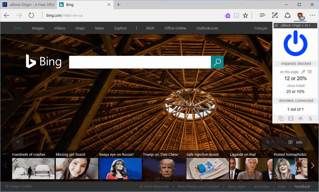 uBlock Origin for Microsoft Edge is Available now on ...