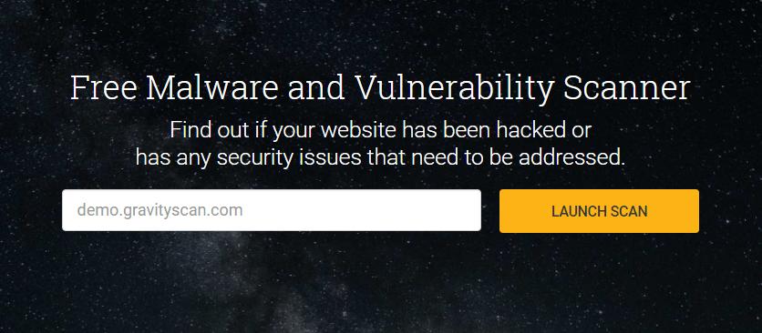 Website Vulnerability Security Scanner